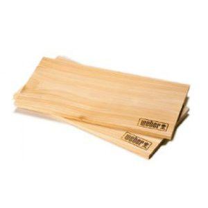 Кедровые доски для копчения Weber 2 шт