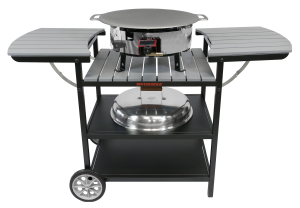 Газовий портативний стіл-барбекю Muurikka D-300 Сірий