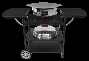 Газовый портативный стол-барбекю Muurikka D-300 Черный