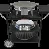 Электрический портативный стол-барбекю Muurikka Черный