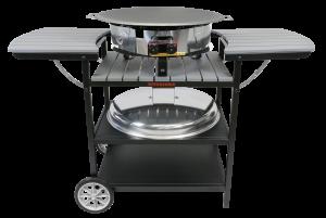 Газовий портативний стіл-барбекю Muurikka D-400 Сірий