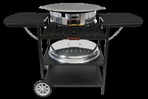 Газовий портативний стіл-барбекю Muurikka D-400 Чорний