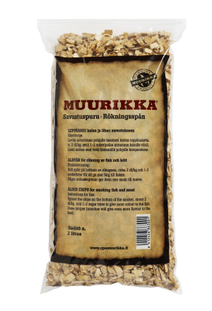Тріска для копчення Muurikka вільха 330