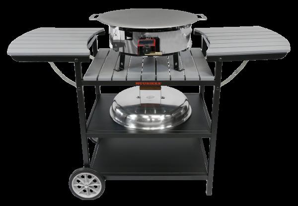 Газовый портативный стол-барбекю Muurikka D-300 Серый