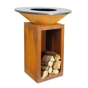 Деревянный гриль-барбекю OFYR CLASSIC STORAGE 85x100