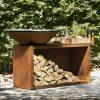 Дерев'яний гриль-барбекю OFYR ISLAND 100x100 14429
