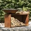 Дерев'яний гриль-барбекю OFYR ISLAND 85x100-CD 14453