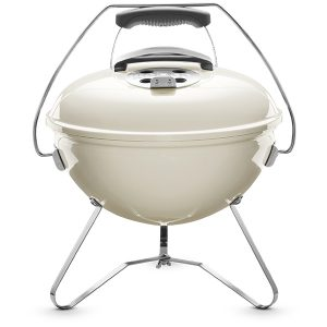 Вугільний гриль Weber Smokey Joe Premium 37 см Бежевий