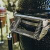 Керамічний гриль Monolith CLASSIC 46 см чорний PRO-SERIES 1.0 на сталевих ніжках 18922