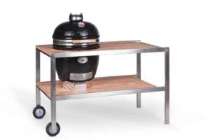 Комплект - Monolith Le CHEF BBQ-GURU Pro-serie 1.0 с деревяным столом